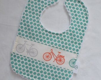 Organic Bike-It Bicycle and Chenille Bib