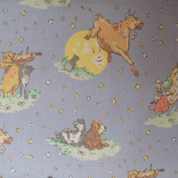 Destash - Half Yard Laura Ashley Hey Diddle Diddle Drapery Fabric