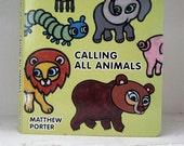 Calling All Animals Board Book