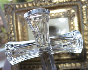 Vintage Glass Cross