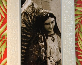 Virgin of Guadalupe Christmas Cards six for 5.00