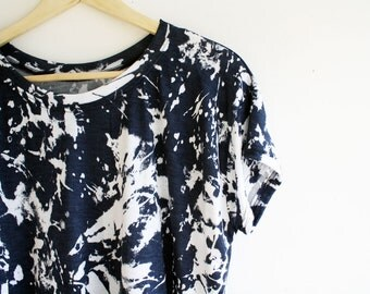 made to order // splatter tee / by replicca / size small to extra large