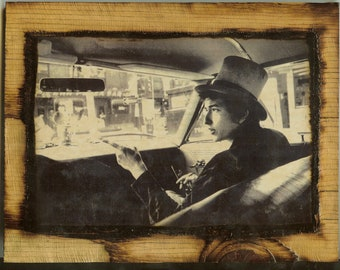 Bob Dylan - Wooden Plaque