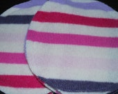Upcycled Cashmere Nursing Breast Pads Reusable Breastfeeding Wool