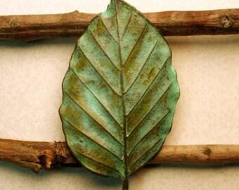 Beech Leaf Pin