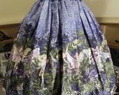 Indigo Children Shirred High-Waisted Skirt - Size XS-M