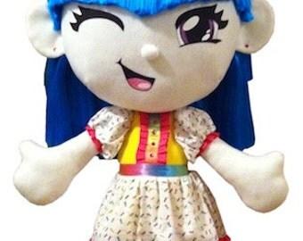 Kurin Baby Wash Scrub 3 Foot Tall Window Display Doll