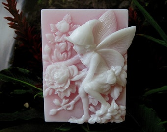 Soap. Fairy of the Peonies with Peony fragrance, a light romantic, powdery, floral scent.