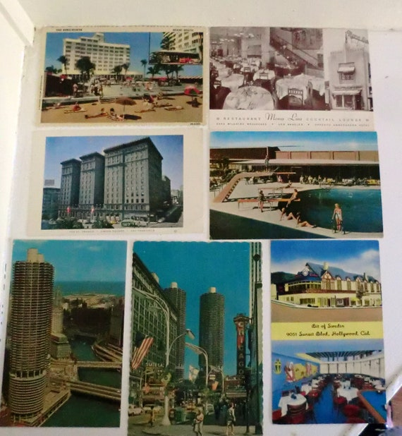 VINTAGE Vacation Post Card Collection