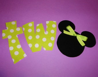 MICKEY MOUSE EMBROIDERY APPLIQUE - APPLIQUE DESIGNS
