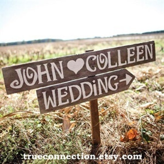 Etsy Wedding Signs: Country Wedding Signs Rustic Outdoor Weddings Reclaimed