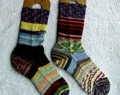 Crazy Socks - ladies medium, 8.5""