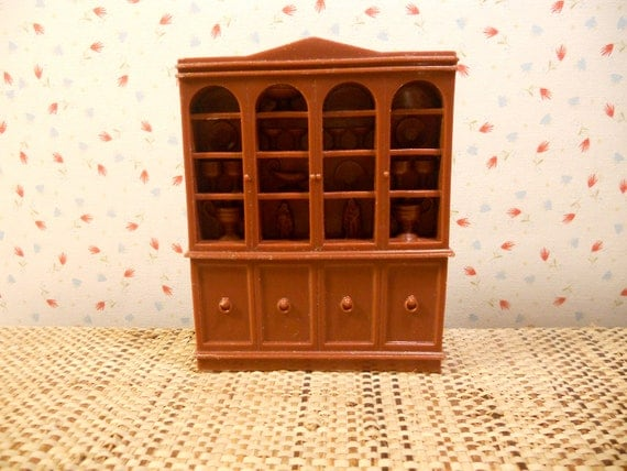 Marx French Provincial Dining Room Hutch Half Inch Scale SALE