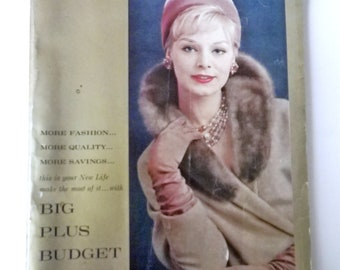 Spiegel Catalog  50s 1959 Dresses Lingerie Furniture & More Vintage
