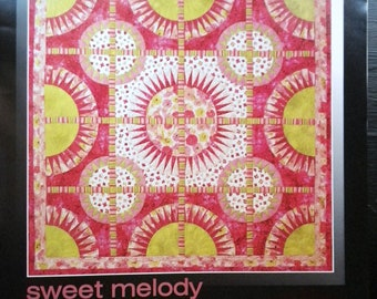 Sweet Melody Be Colourful by Jacqueline de Jonge Foundation Papers for Quilt Pattern