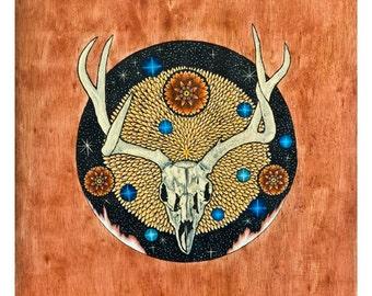 Deer Spirit Print