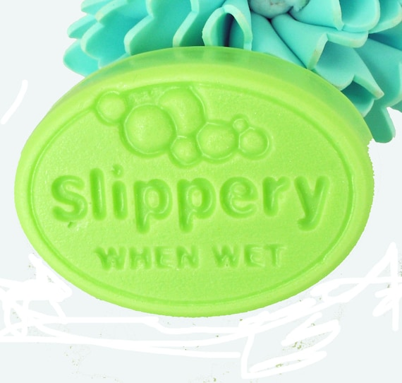 soap coconut lime verbena scent slippery when by lostriverrags. Black Bedroom Furniture Sets. Home Design Ideas
