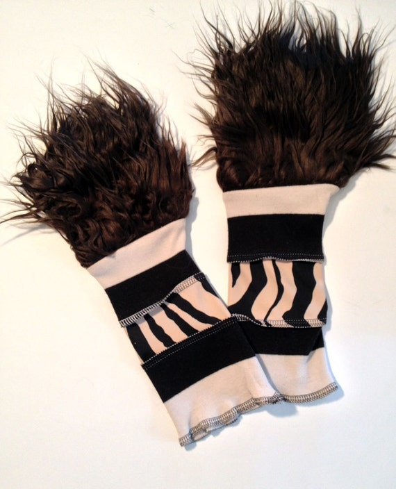 Sale. Gutter Punk Arm Warmers Monster Paws by CrudeThings ...