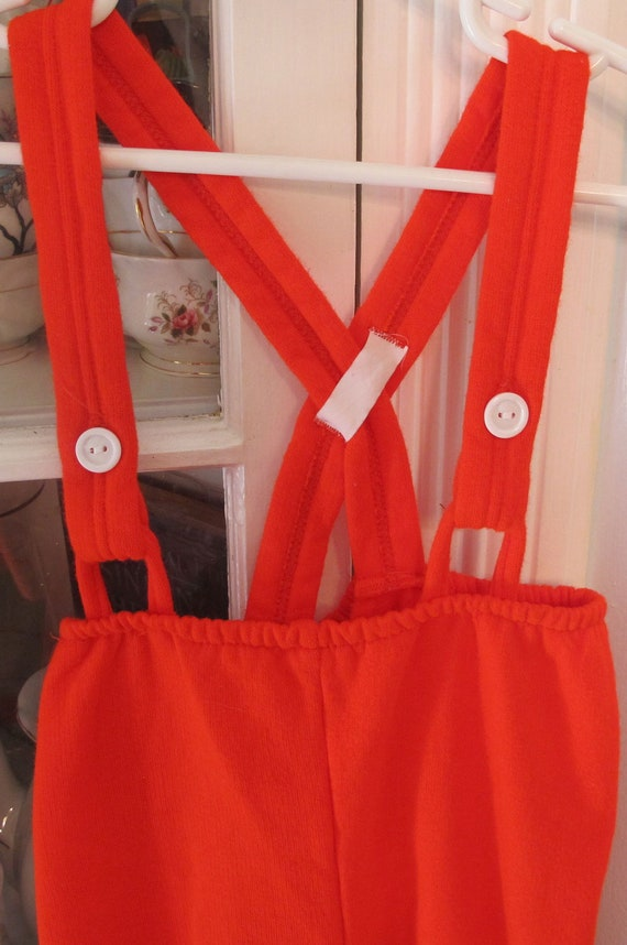Red Jersey Overalls 9-12 Months