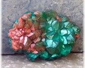 Emerald Low Crystal Formation Nugget Gemstone Glycerin Soap Rock