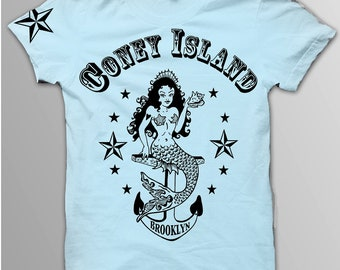 Coney Island Women's Mermaid Tee