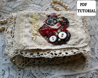 Sonnets Mini Fabric Book PDF Tutorial