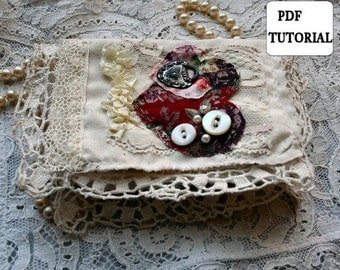 INSTANT DOWNLOAD Sonnets Mini Fabric Book PDF Tutorial