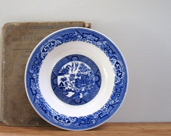 Vintage Willow Ware Bowl