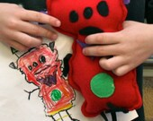 Custom stuffed monster