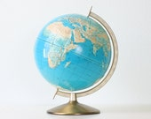 Vintage Relief Globe by AERO Service Corporation