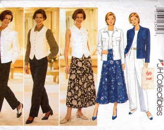 Sewing Pattern Butterick 4405 Misses Career Wardrobe  Bust 40-44 inches Uncut Complete
