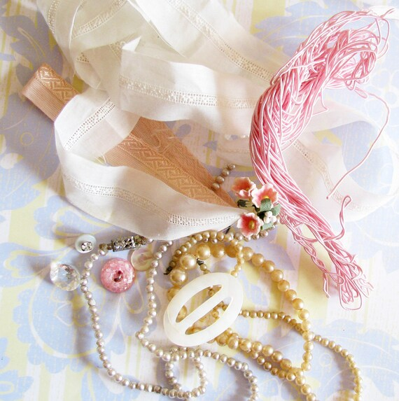 Girly Sweet Treats...Lovely Trims, Jewelry Bits, & Fancies
