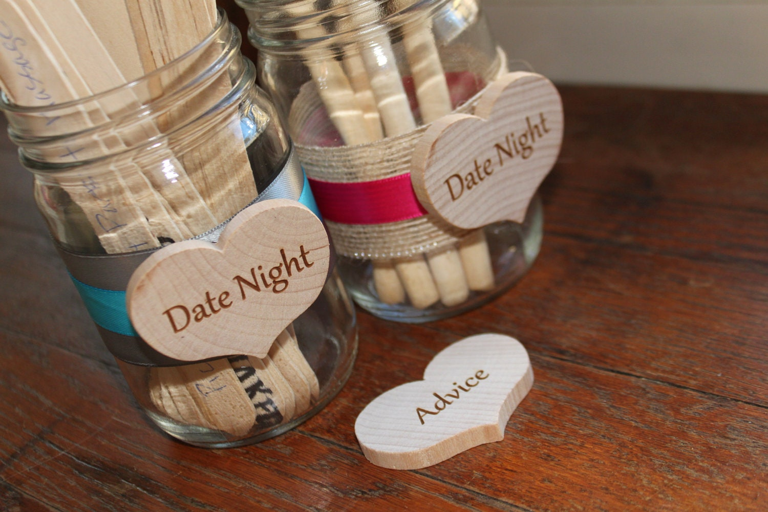 Bridal Shower Baby Marriage Advice For The Bride And Groom Date Night Ideas Jar Only