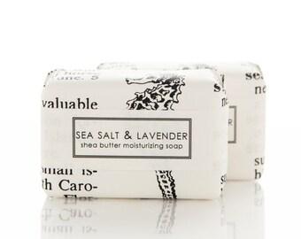 Sea Salt & Lavender Shea Butter Soap