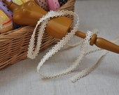 3Ys+ 8mm Teeny Crochet Lace -S04
