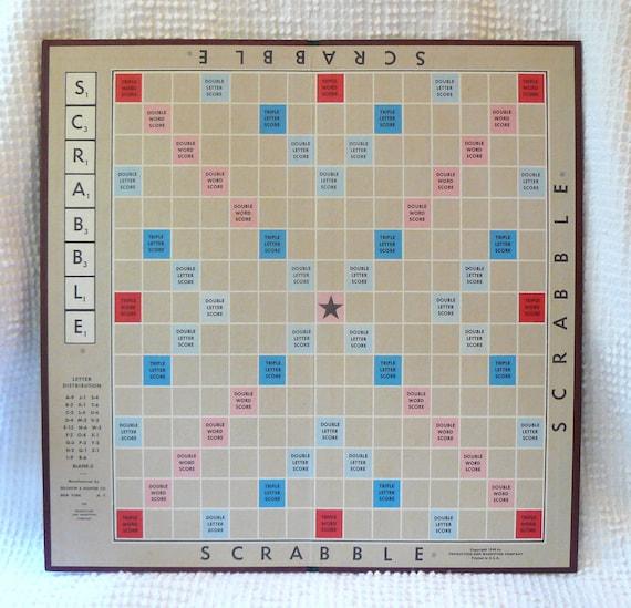 Légend image for printable scrabble board