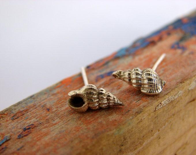 Stud Earrings Nautical Sterling Silver