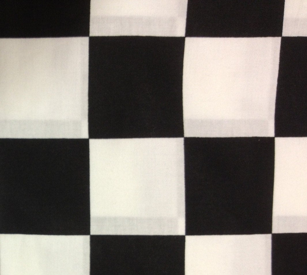 2 5 yards of black and white checkered fabric for Black and white fabric
