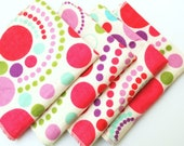 FREE OFFER Child Reusable Cloth Napkins / Wipes- Set of 4- Get Down Get Down