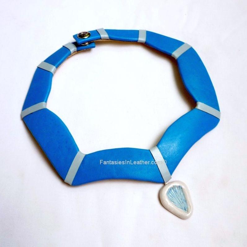 Pocahontas Turquoise Bib Collar Necklace Col147