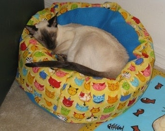Dog Cat Bed Pattern Tutorial Marshmallow Cuddle Bed cats and dogs PDF