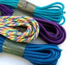 Parachute Cord - Paracord - 100% Nylon - Custom Order your Colors - 20 to Choose From