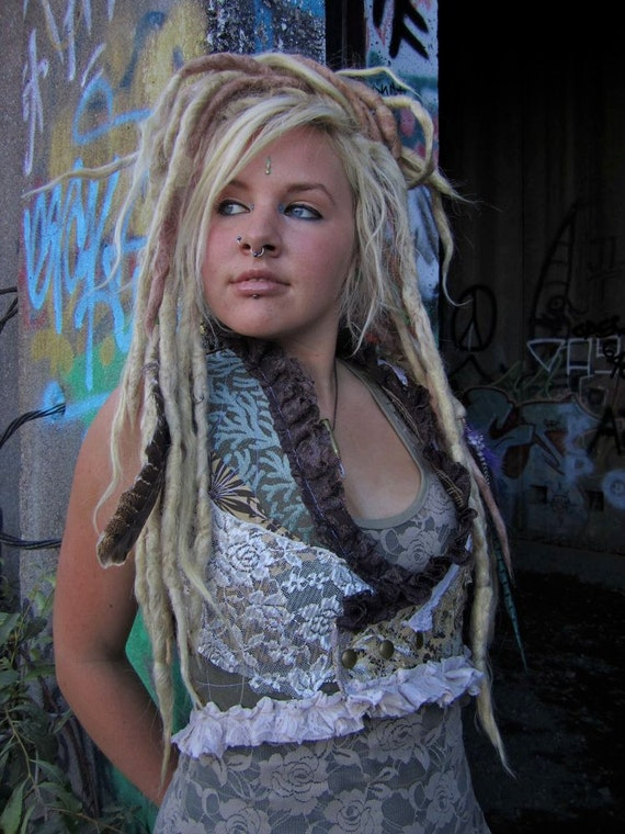 SALE Urban Tribal Pixie Tattered Vest