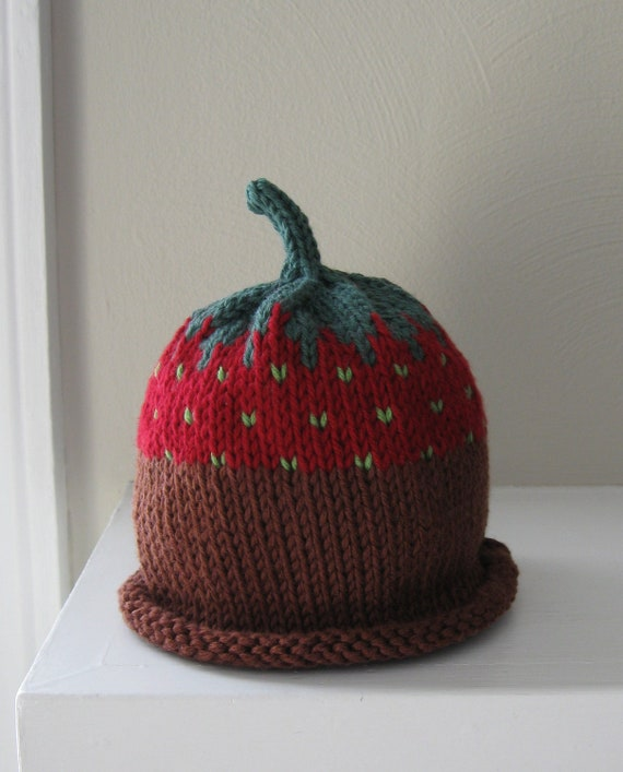Special Listing for Erin - Chocolate-Dipped Strawberry Hats - Made-to-Order