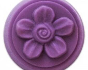 Wax Tart Mold - Spiral Flower