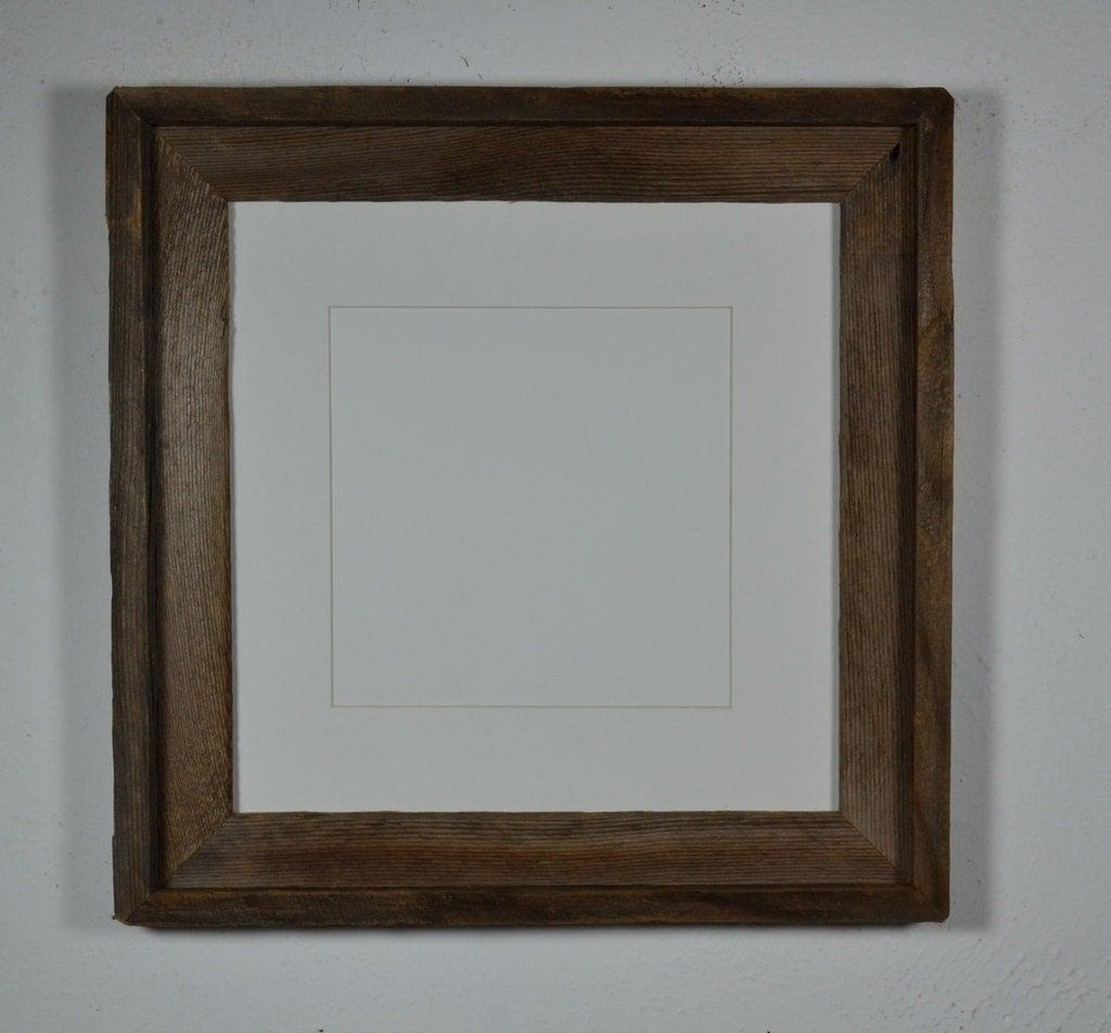 12x12 Rustic Barnwood Frame Beautiful Patina And By Barnwood4u