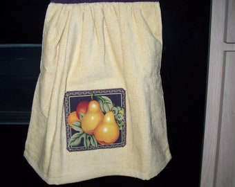Button Down Towel - Fruit