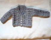 Hand-knitted Cardigan to fit a Sasha Morgenthaler doll