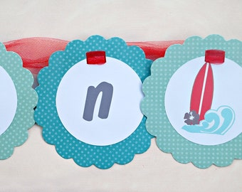 The Vintage Surf Collection - Custom Banner from Mary Had a Little Party