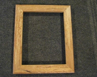 8x10 Spalted Birds Eye Rock Maple Picture Frame 2